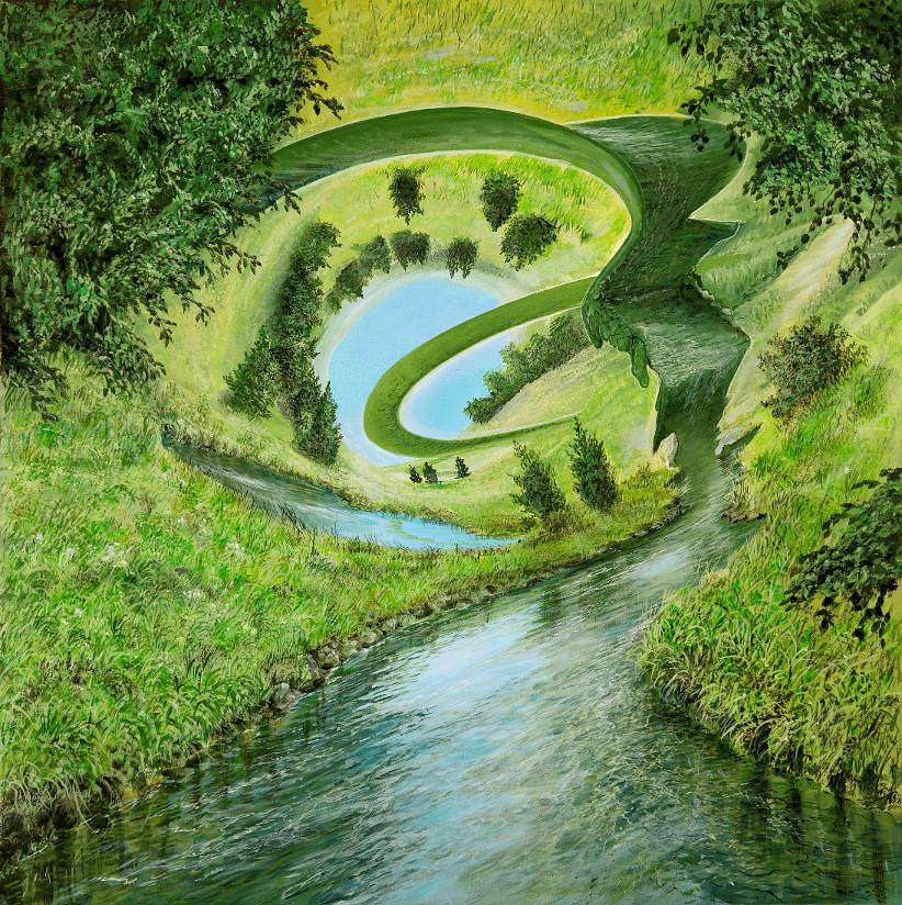 Globale Veränderungen - Ölbild / Leinwand - Gemälde von  S t e r n h a g e l