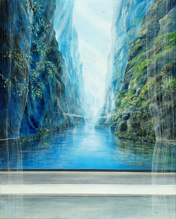Licht ist mein Name - Ölbild / Leinwand - Gemälde von  S t e r n h a g e l
