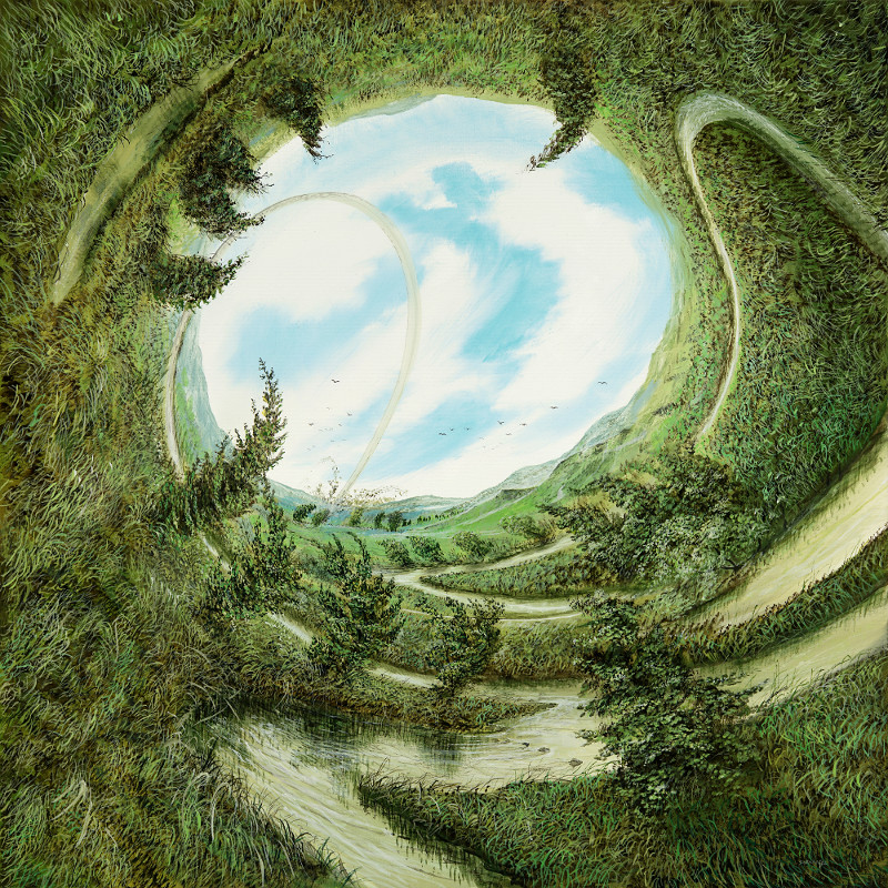Neue Winde - Ölbild / Leinwand - Gemälde von  S t e r n h a g e l