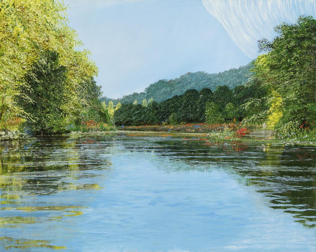 Offener Blick - Ölbild / Leinwand - Gemälde von  S t e r n h a g e l