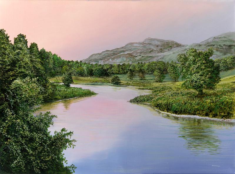 Zeitwechsel - Ölbild / Leinwand - Gemälde von  S t e r n h a g e l